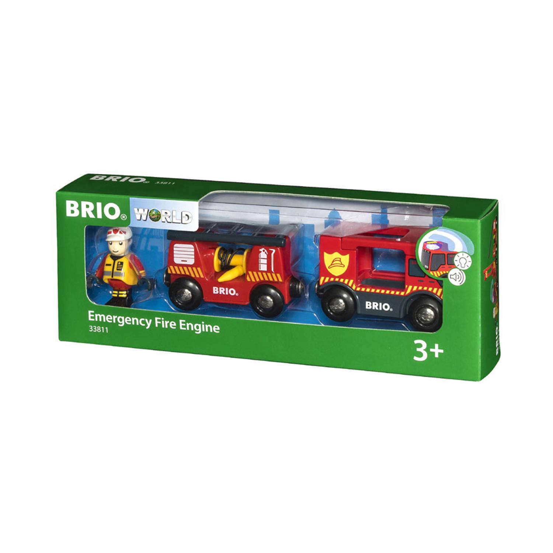 BRIO brandweerlocomotief 33811