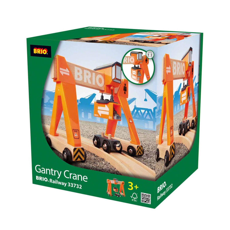 BRIO Container laadkraan - 33732