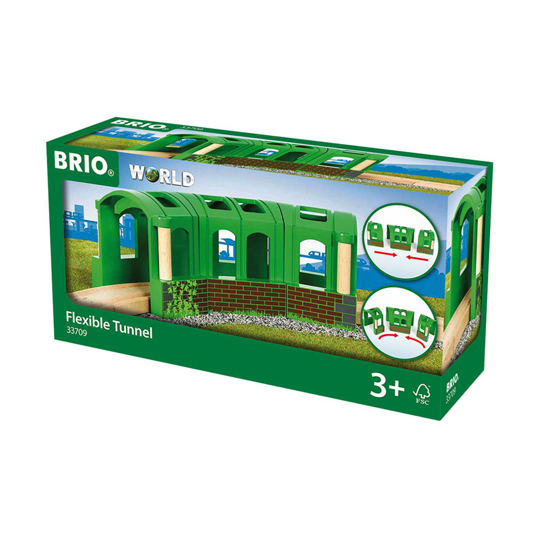 Brio Flexibele Tunnel 33709 - Groen
