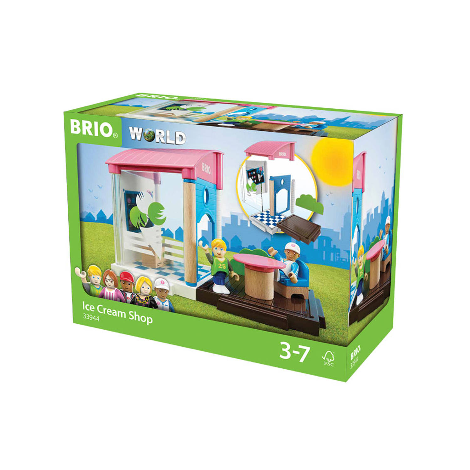 Brio Assembly Group Ice Cream Shop