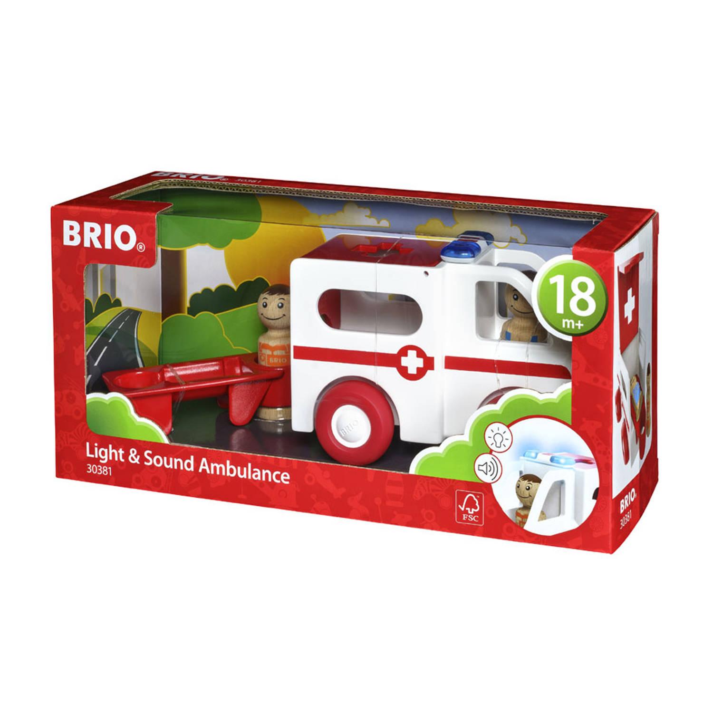 Brio Ambulance Met Licht En Geluid 30381
