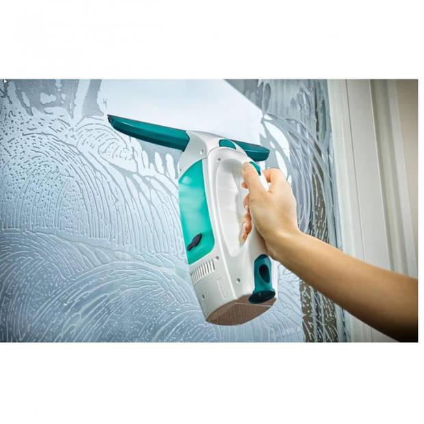 Leifheit Dry & Clean raamzuiger met inwasser en steel (43 cm) - Click System