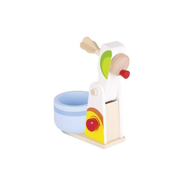 Goki houten mixer set 2-delig