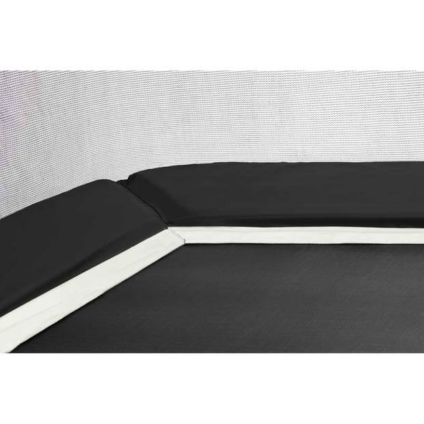 Salta Combo trampoline met veiligheidsnet rechthoekig - 153 x 213 cm - zwart