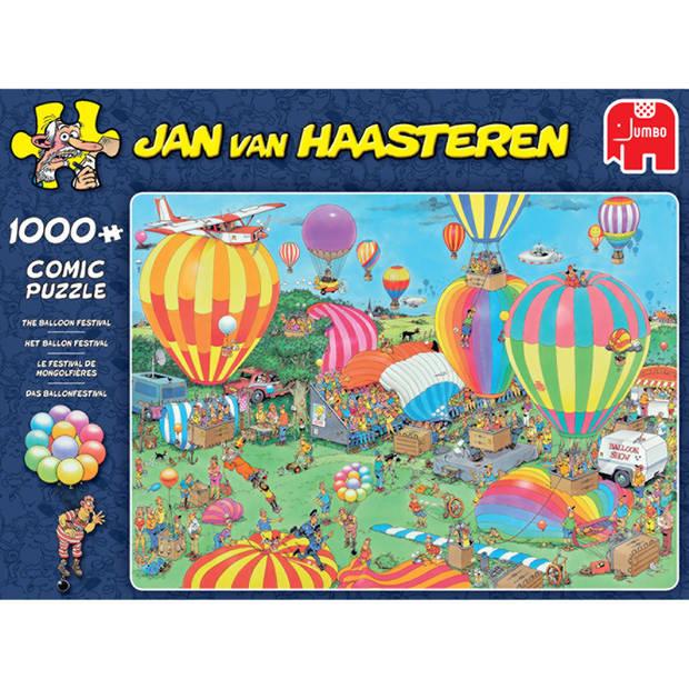 Jan van Haasteren puzzel het ballonfestival - 1000 stukjes