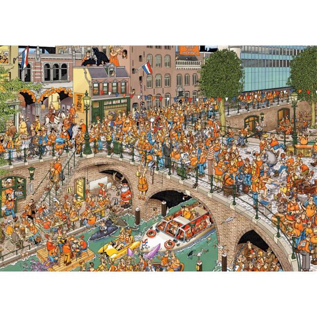 Jan van Haasteren puzzel koningsdag - 1000 stukjes