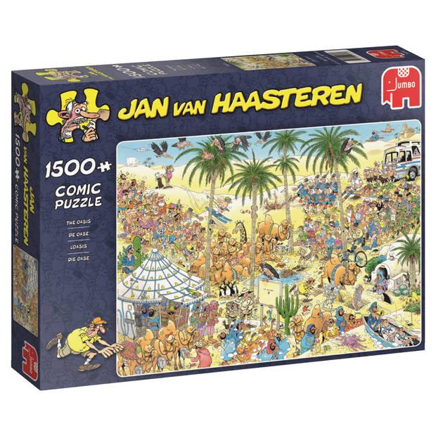 Jan van Haasteren puzzel de oase - 1500 stukjes