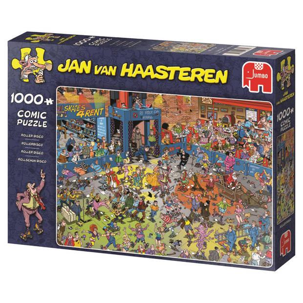 Jan van Haasteren puzzel rollerdisco - 1000 stukjes