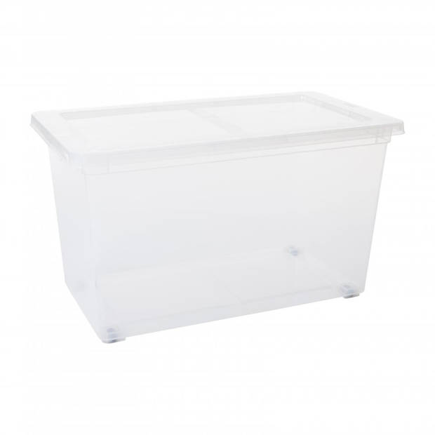 Blokker opbergbox met deksel - 80 l
