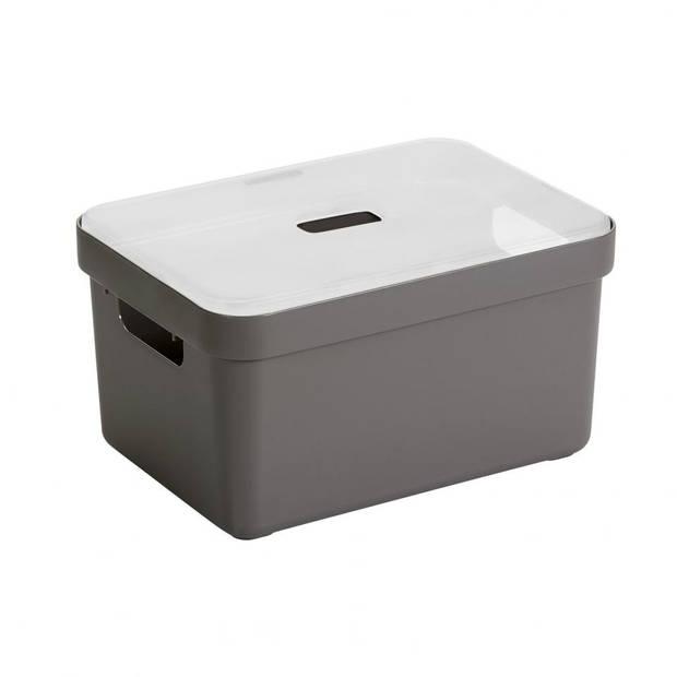 Sunware Sigma Home opbergbox - 13 liter - taupe
