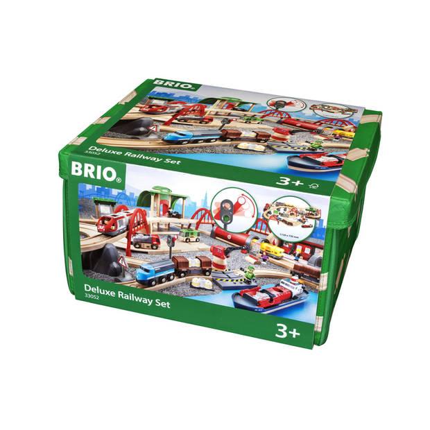 BRIO treinset deluxe 33052