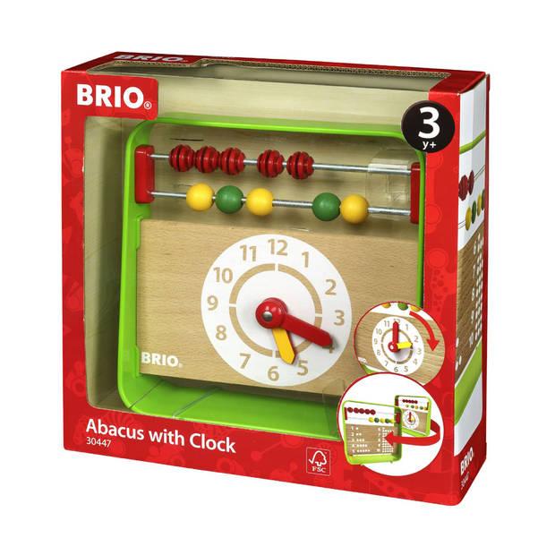 BRIO telraam met klok 30447