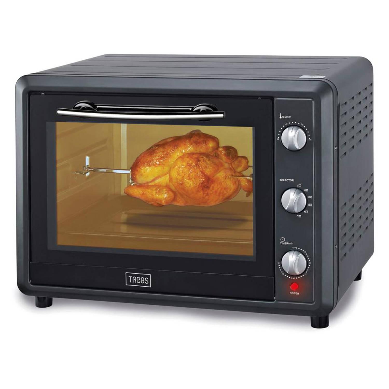 Trebs elektrische oven TEO55LCR50 - 55 liter