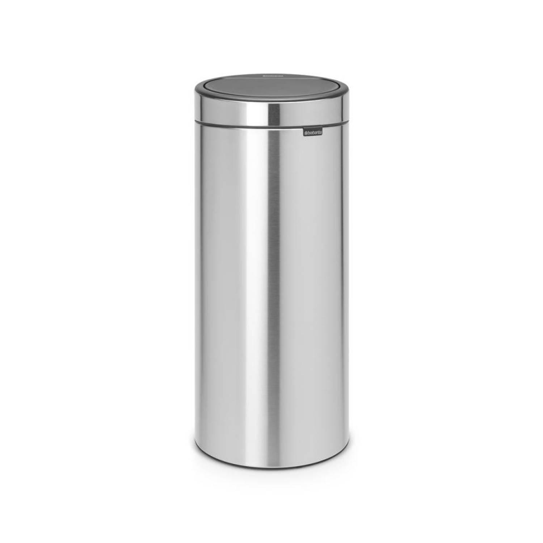 Brabantia Touch Bin Afvalverzamelaar 30 liter Matt Steel