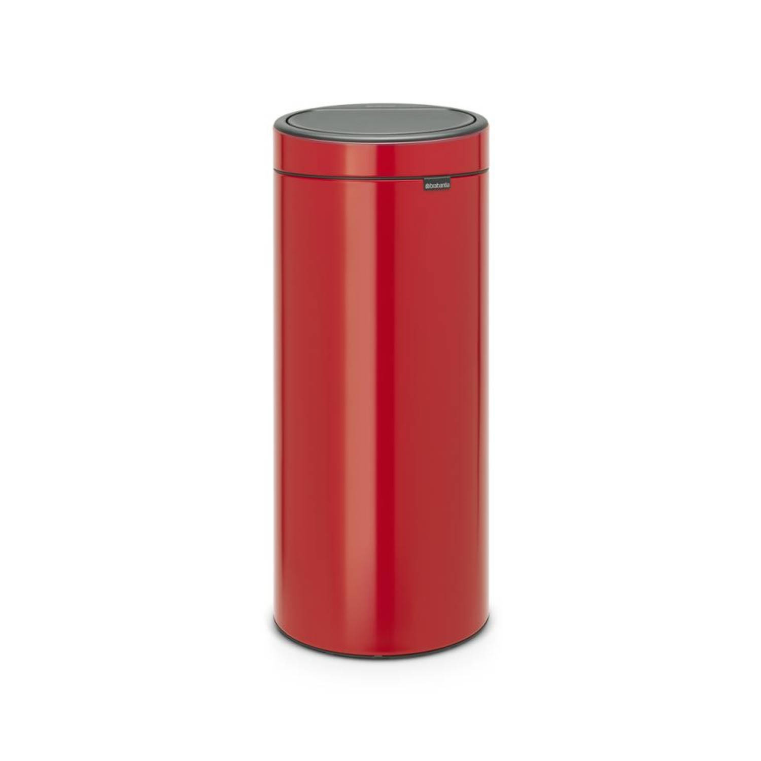 Korting Brabantia Touch Bin 30 l Passion Red