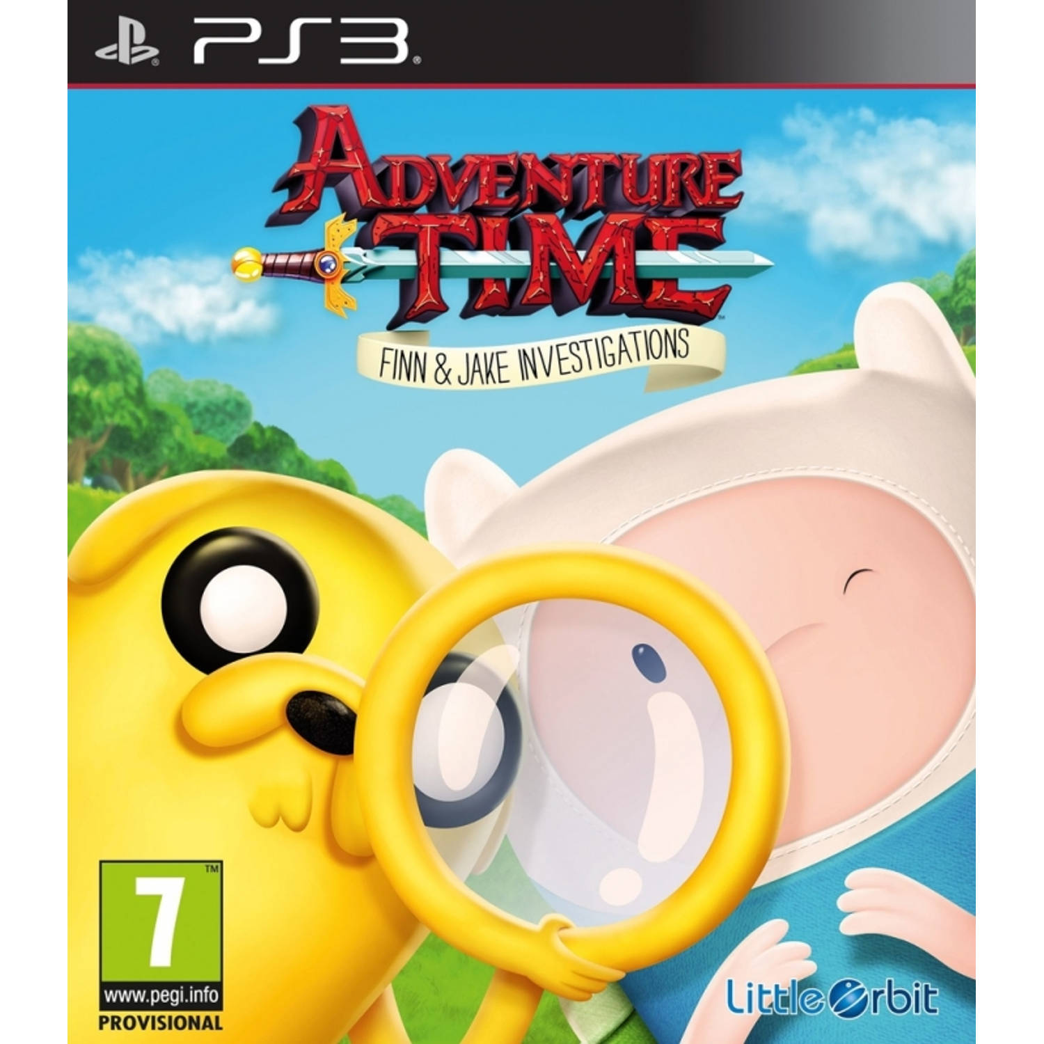 Adventure Time, Finn + Jake Investigations PS3