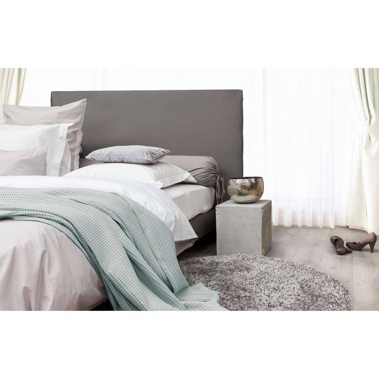 HnL Living plaid Wafel - mintgroen - 180x260