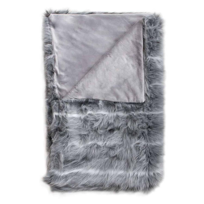 HnL Living plaid Cloud - grijs - 140x220