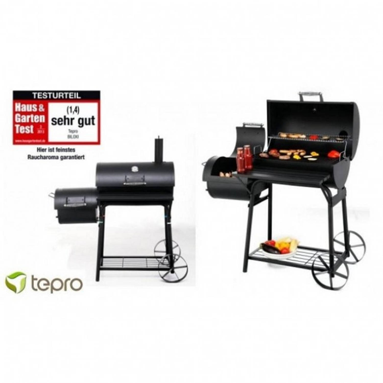Tepro Biloxi Afsluitbare Houtskool Barbecue - Smoker
