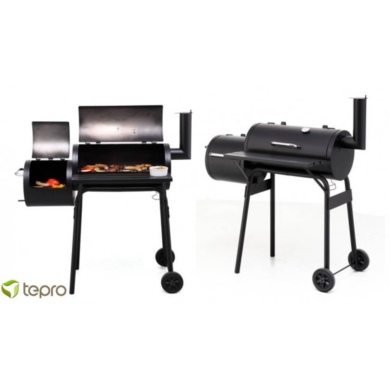 Tepro Wichita Afsluitbare Houtskool Barbecue - Smoker
