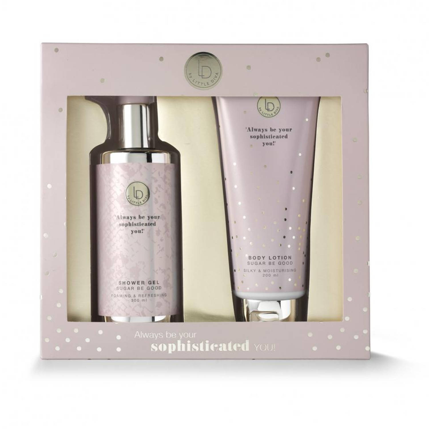Little Diva bodylotion en showergel giftset - sugar be good