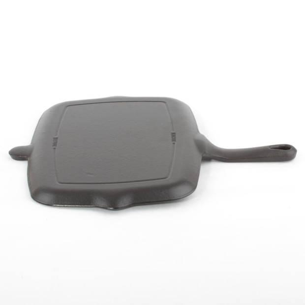 Cuisinova grillplaat - gietijzer - 33 x 22 cm