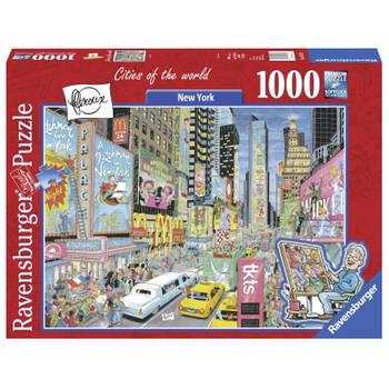 -Ravensburger puzzel Fleroux New York - 1000 stukjes-aanbieding