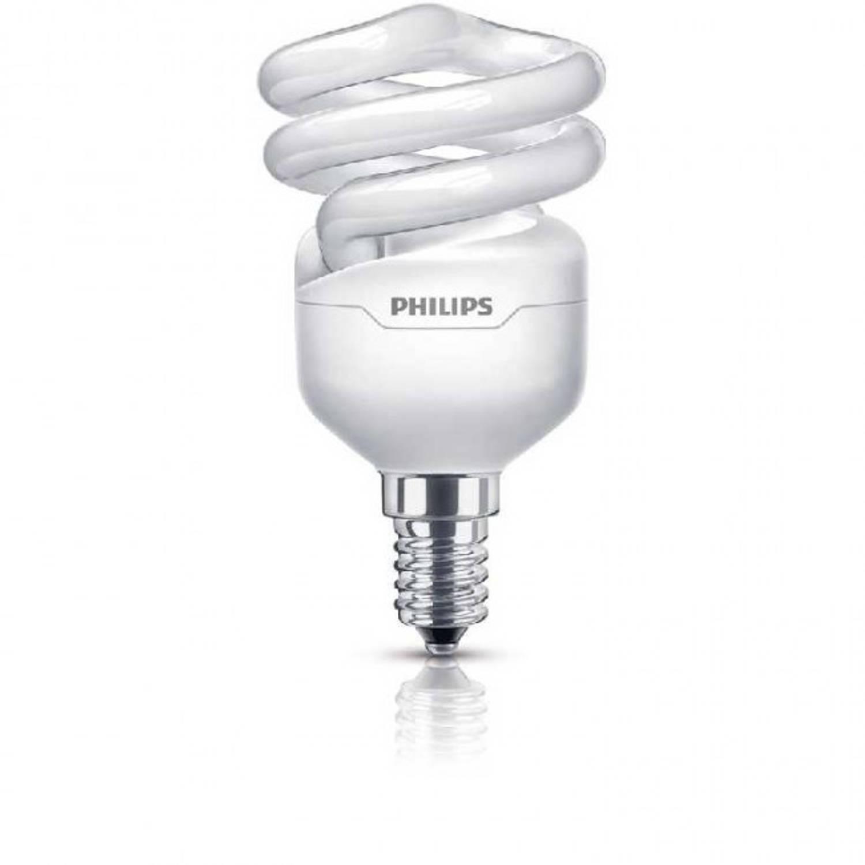 Philips Tornado spaarlamp spiraal 12 W E14 warm wit