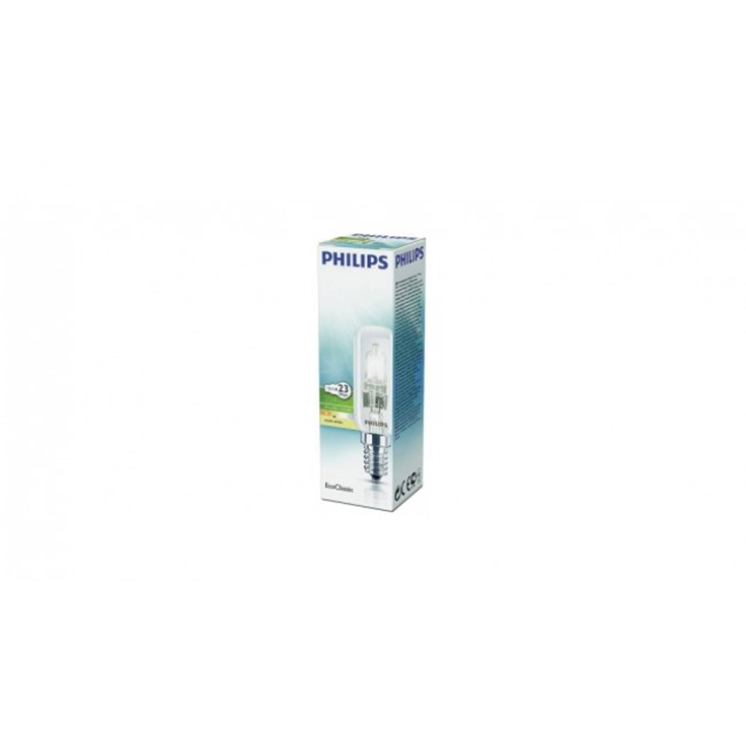 Philips EcoClassic halogeenlamp 230 V 18 W E14 warm wit