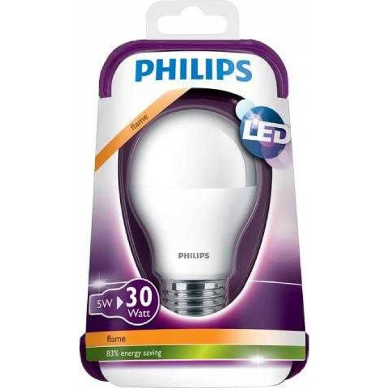 Philips Led lamp A60 5 W E27 flame