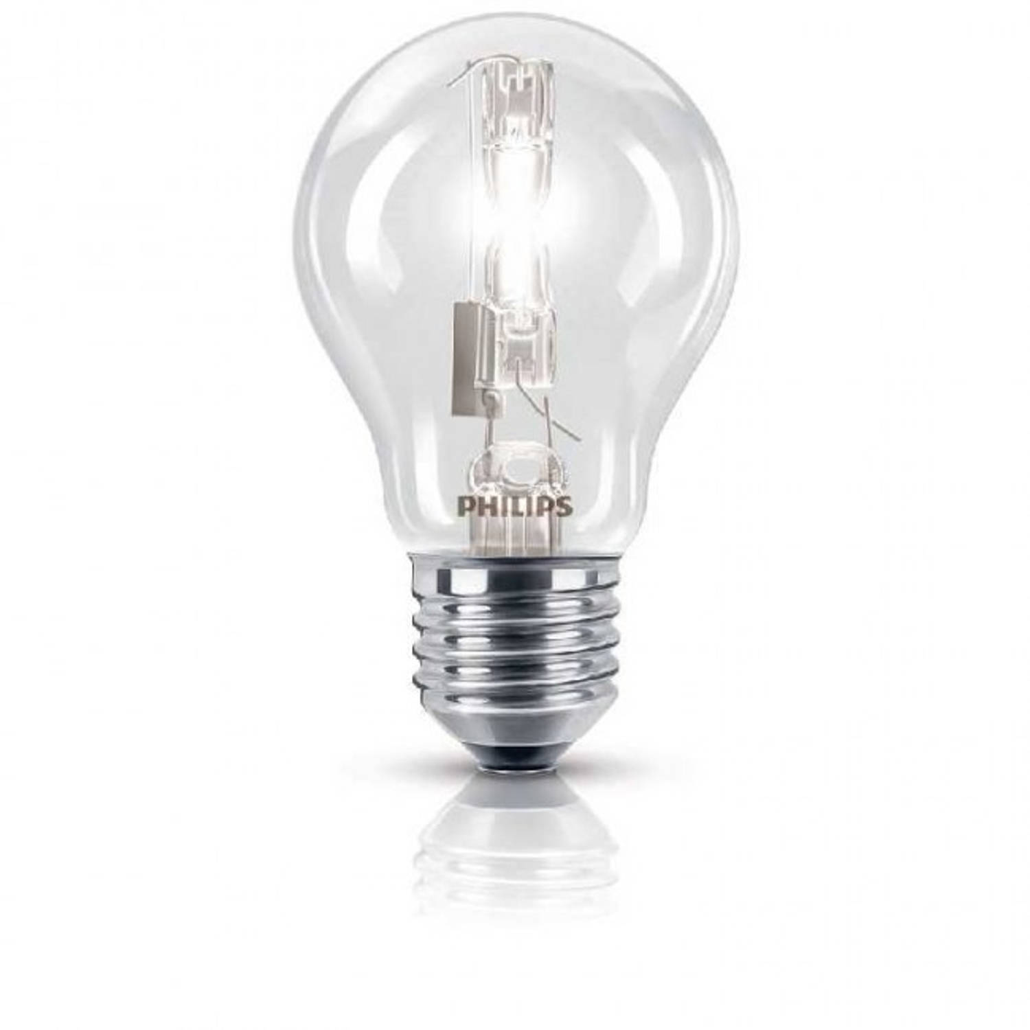 Philips EcoClassic halogeenlamp A55 70W E27 warm wit