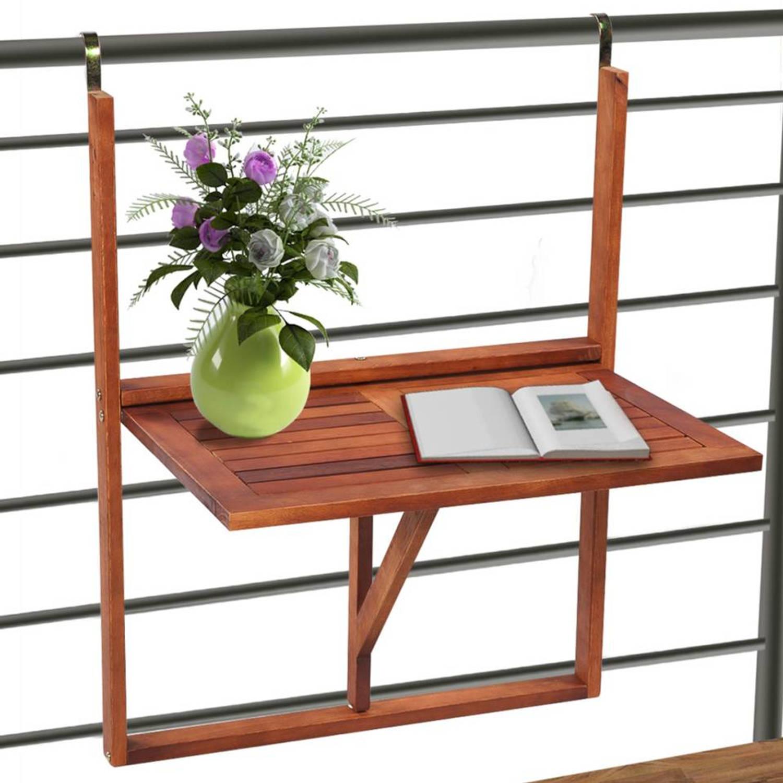 Inklapbare tafel voor op het balkon blokker for Inklapbare tafel