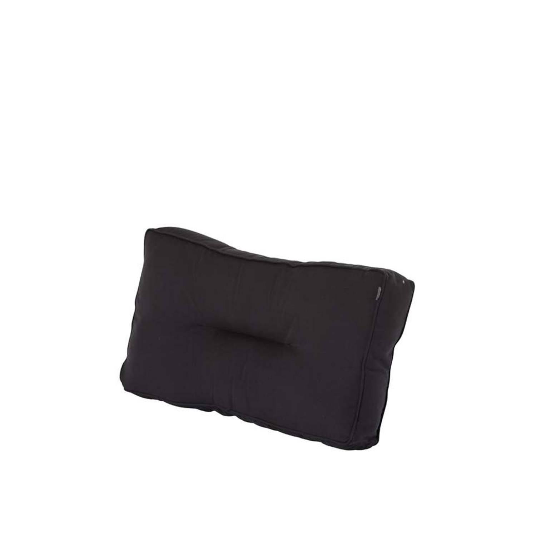 Hartman loungekussen rug Havana Dark Grey donkergrijs 75x40x16 cm