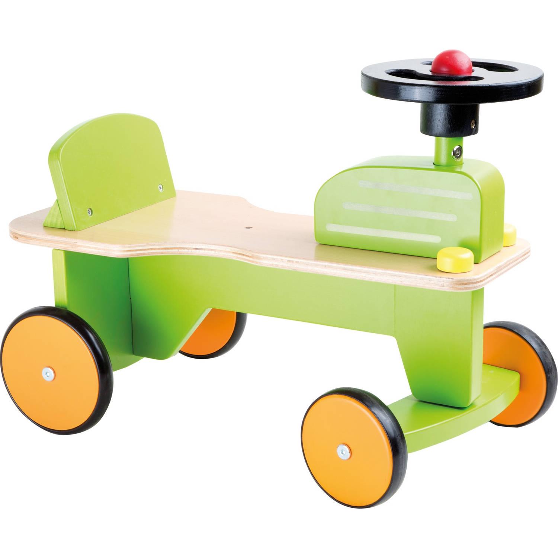 Small Foot Loopfiets Tractor Junior Groen