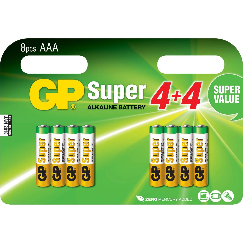 24A Super Alkaline 8x AAA Multipack