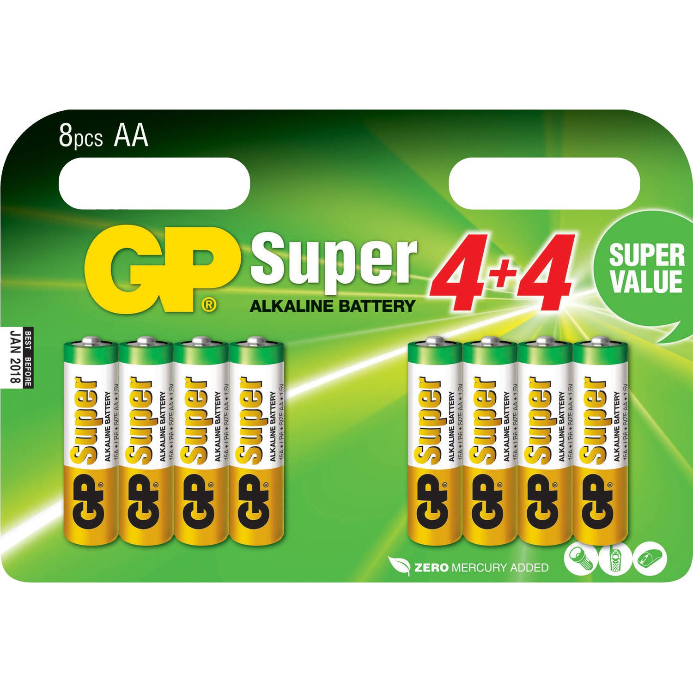 15A Super Alkaline 8x AA Multipack