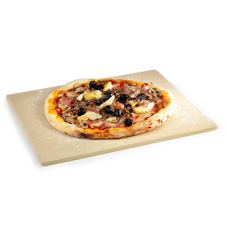Barbecook universele pizzaplaat - crème