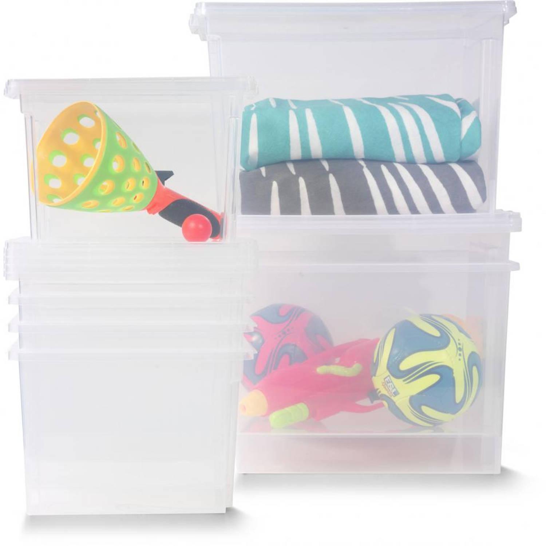 Iris Useful storage box - S - 10 l - transparant