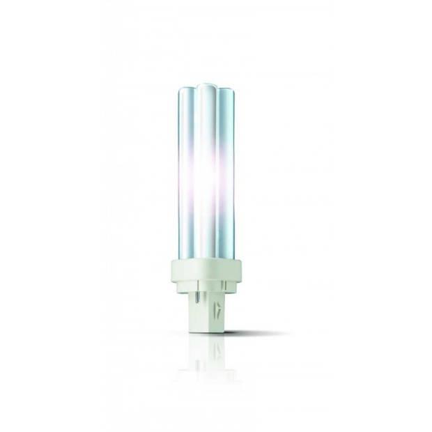 Philips Master PL-C lamp G24D-2 18 W 830 warm wit