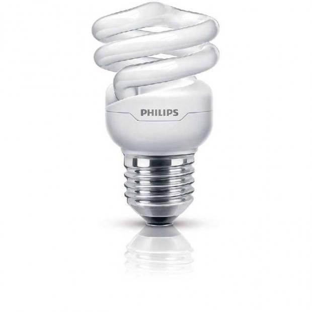Philips Tornado spaarlamp spiraal 8 W E27 warm wit