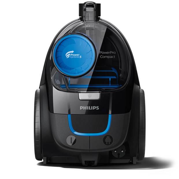 Philips zakloze stofzuiger PowerPro Compact FC9331/09 - zwart