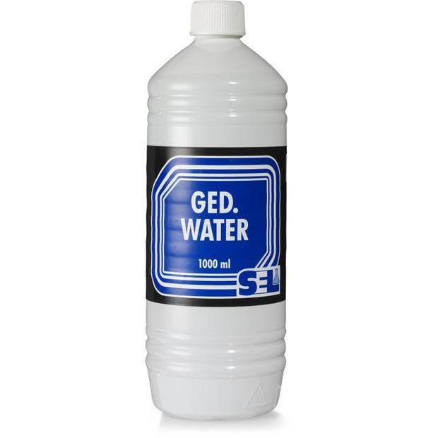 Sel gedemineraliseerd water - 1000 ml