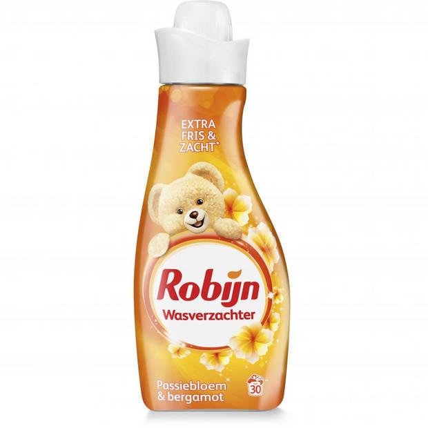 Robijn wasverzachter - passiebloem en bergamot - 750 ml