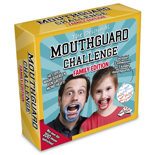 Mouthguard Challenge spel - familie editie