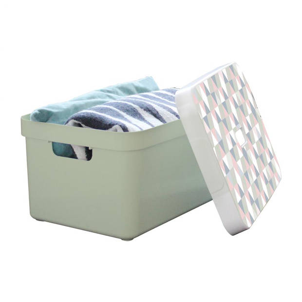 Sunware Sigma Home opbergbox - 32 liter - lichtgroen