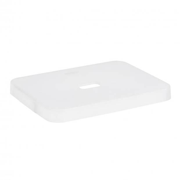 Deksel voor Sunware Sigma home box 24L + 32L - transparant