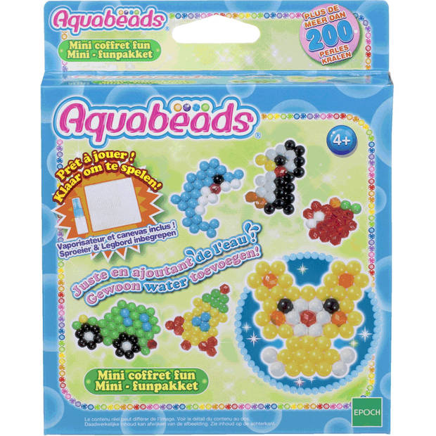 Funpakket Mini Aquabeads - Hobbykralen Aquabeads