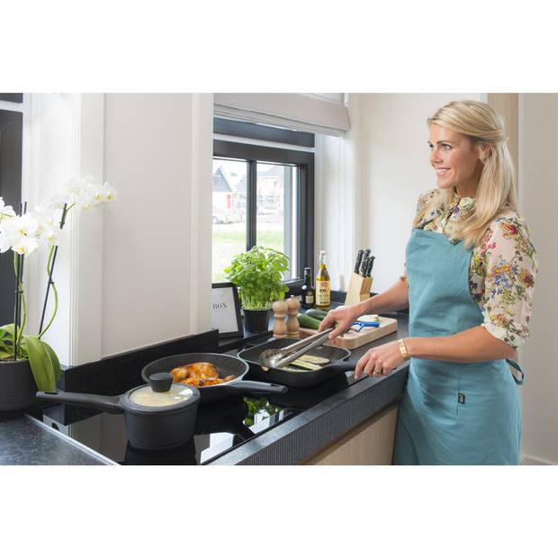 Sola Fair Cooking wokpan met glazen deksel - Ø 28 cm