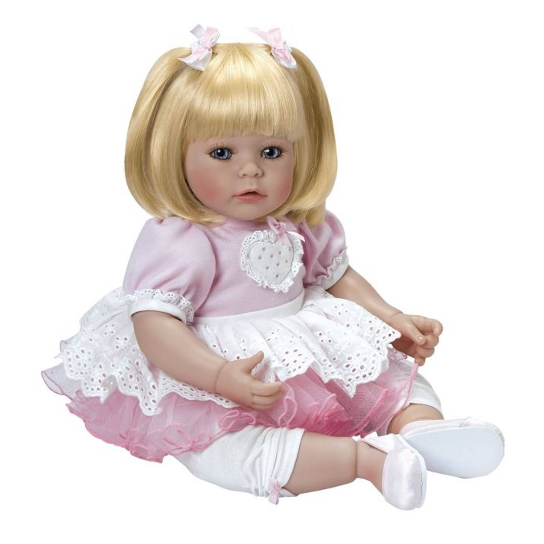 Afbeelding van Adora Toddler Time babypop Hearts Aflutter 51 cm roze