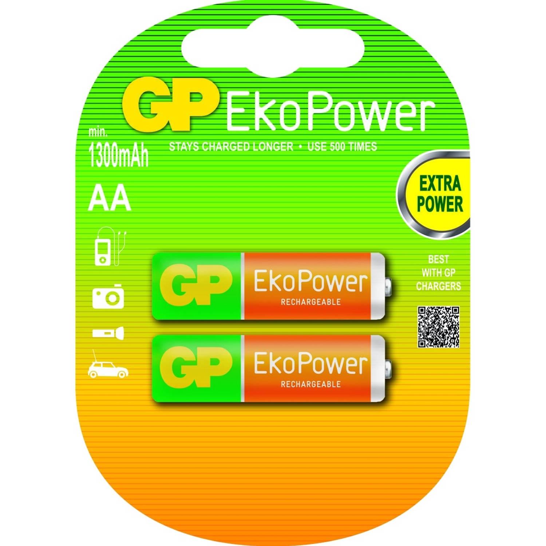 EkoPower Rechargeable 2x AA